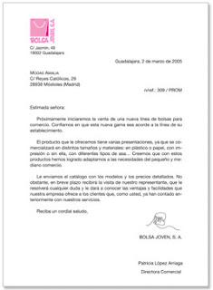 Carta Comercial Como Hacer Una Carta